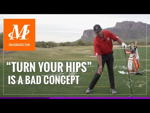 "Malaska Golf // Why ""Turn Your Hips"" is a Bad Concept in your Golf Swing"
