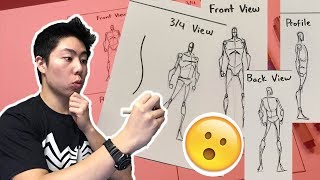 How to Draw a Figure From Memory Step by Step Tutorial (Basic Stick Figure)
