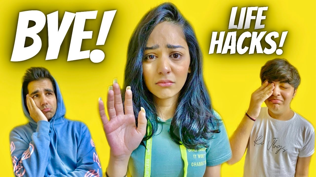 TESTING VIRAL LIFE HACKS GRAND FINALE WITH BROTHER & SISTER | Rimorav Vlogs