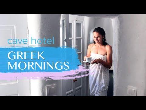 Santorini Mornings Oia Canvas Suites Cave Hotel Greece