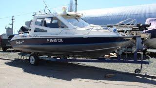 "Тюнинг лодки ""Silver Star Cabin"". Нестандартная установка ""Minn Kota Terrova 80i"". ""Запрет"" на Волге"