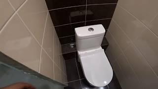 Ремонт ванной комнаты и туалета с уменьшением ванной комнаты!г.Брянск.