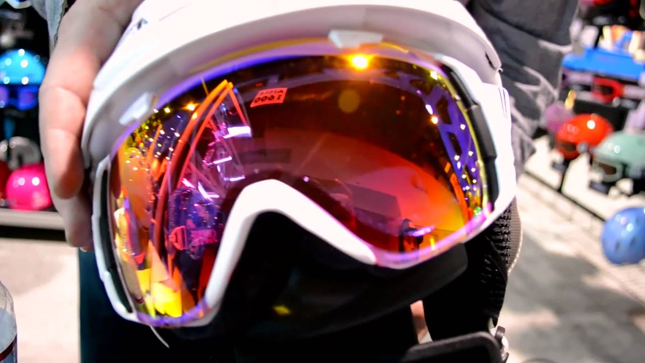 oakley photochromic ski goggles  Smith IO Goggles Ski Red Sensor Mirror Lens Overview - YouTube