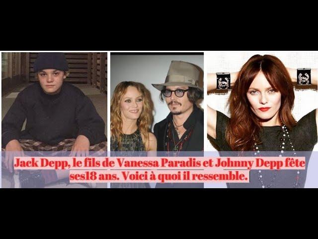 le fils de Vanessa Paradis et Johnny Depp fête ses18 ans. Voici à quoi il ressemble Jack Depp