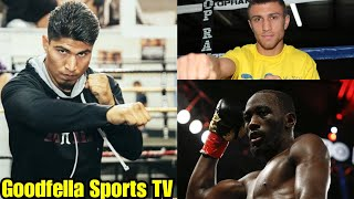 Bob Arum Offers Mikey Garcia Two Fights Terence Crawford & Vasyl Lomachenko...