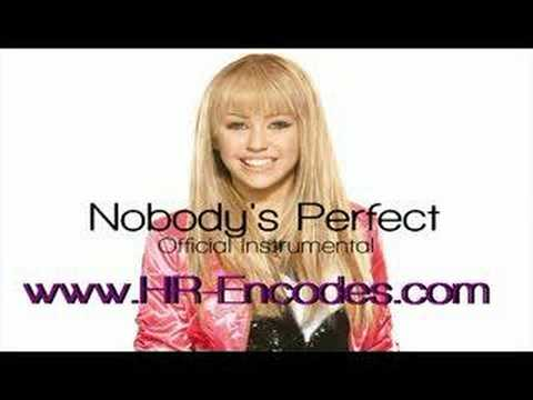 Nobody's Perfect (Official Instrumental)  www.HR-Encodes.com