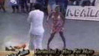 """""""Casino style"""" Salsa dancing -- Chinese man with Cuban woman"""