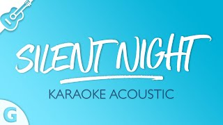 Silent Night (Karaoke Acoustic Guitar) Key of G