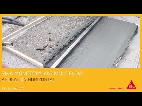 Sika MonoTop®-442 Multiflow - Mortero de reparación
