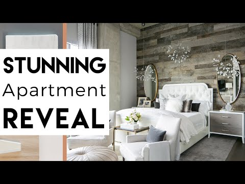 Interior Design Apartment Transformation REVEAL YouTube Classy Apartment Interior Design