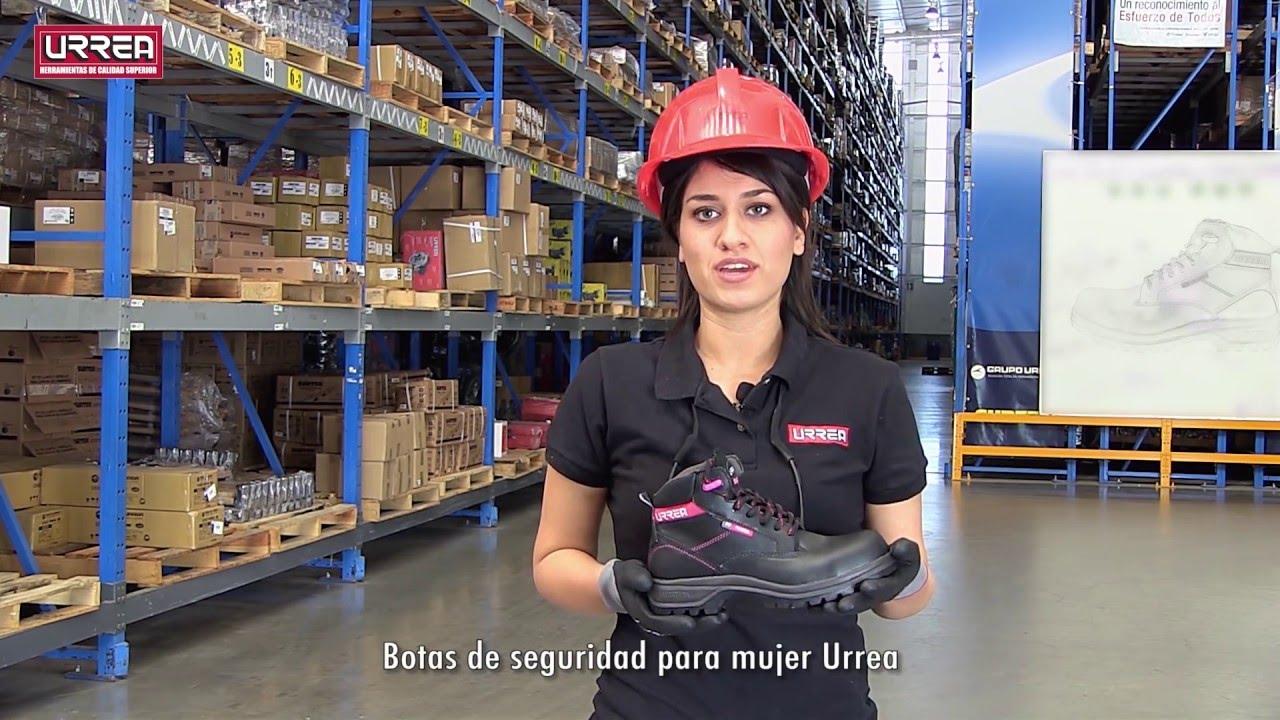 Botas de protecci n o seguridad para las mujeres youtube - Calzado de seguridad ...