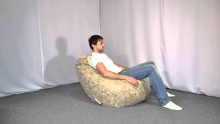 видео кресло мешок подушка