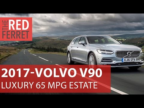 2017 Volvo V90 - Swedish luxury and self-drive economy (65 mpg) [Review]