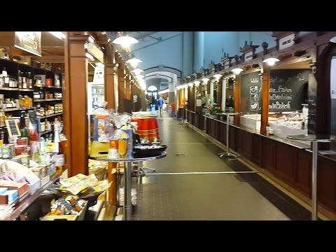 Old Market Hall (Vanha Kauppahalli) in Helsinki, Finland