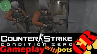 Counter-Strike: Condition Zero gameplay with Hard bots - Prodigy - Terrorist