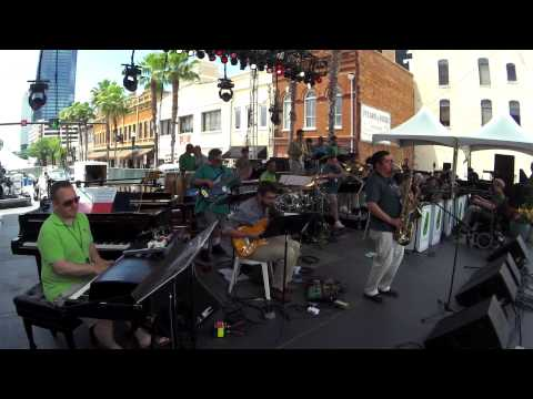 "The Mica Bethea BigBand ""Frahm Out Of Nowhere"" 2015 Jax Jazz Fest"