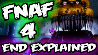 FNAF 4 ENDING EXPLAINED! || Bite of 87 Victim Dies || Five Nights at Freddy's 4 ENDING Explained