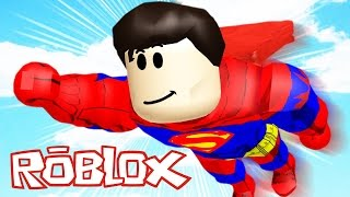 SUPER MAN WITH NEW POWERS-Roblox