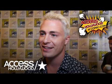 'Teen Wolf': Colton Haynes On Reuniting With The Cast At Comic-Con | Access Hollywood