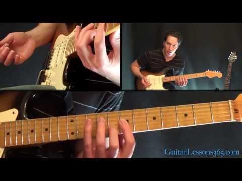 Dani California Guitar Lesson - Red Hot Chili Peppers - All Chords/Rhythms
