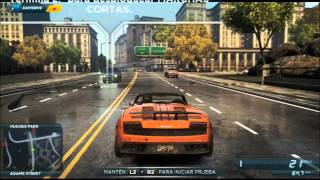 NFS001 | NEED FOR SPEED MOST WANTED: LA VENGANZA CONTRA LEXUS