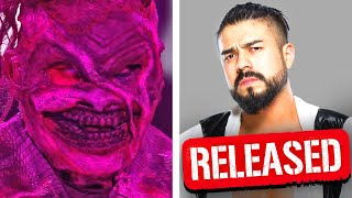 New Deadly Fiend Returns At WWE Fastlane 2021… Andrade Released From WWE…Big Blunder..Wrestling News