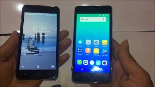 Micromax Spark 4G (2017) Vs Karbonn K9 Smart 4G Unboxing,Reviews,Icon and Camera