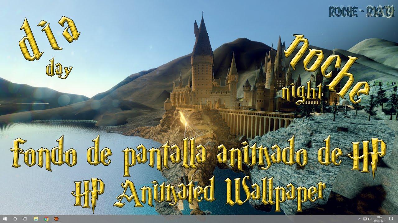 Fondo De Pantalla Animado De Harry Potter Para Pc Youtube