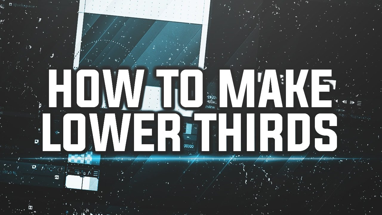 How To: Make Lower Thirds in Vegas Pro 15