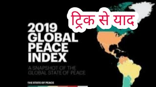GLOBAL PEACE INDEX 2019| WORLD PEACE INDEX 2019| VISHV SHANTI SUCHANKANK 2019| SHAANTI SUCHKANK 2019