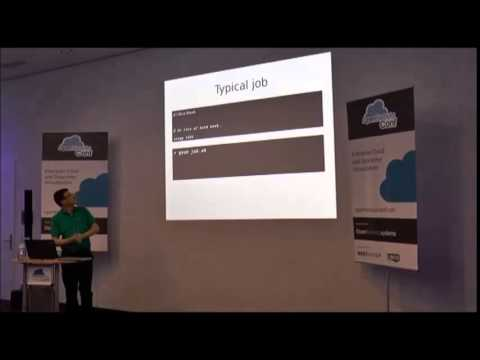 OpenNebulaConf 2014 - Dynamic virtual private clusters with OpenNebula and SGE by Lykle Voort