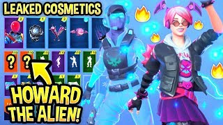 *NEW* Leaked Fortnite Skins & Emotes..! (Howard the Alien,Breakpoint, Signature Shuffle)