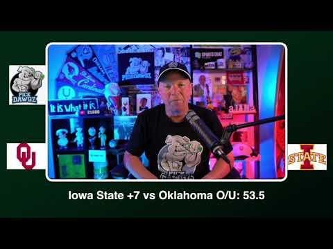 Iowa State vs Oklahoma Free College Football Picks and Predictions CFB Tips Saturday 10/3/20