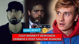 Cole Bennett Reacts To Eminem-Post Malone Rumors, The Eminem Show Trends At 19