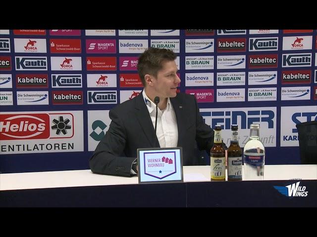 Pressekonferenz: Schwenninger Wild Wings-Eisbären Berlin