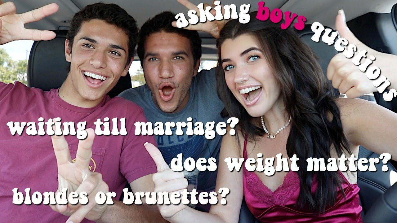 asking guys questions girls are too afraid to ask
