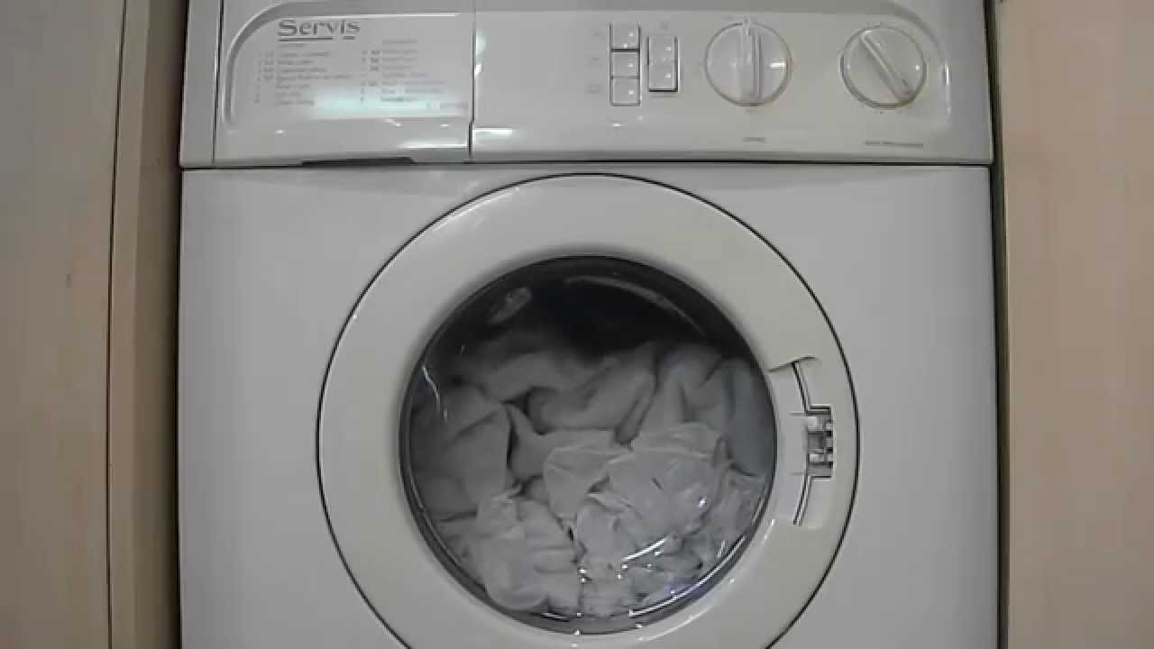 servis s 900wd washer dryer rinse spin youtube rh youtube com