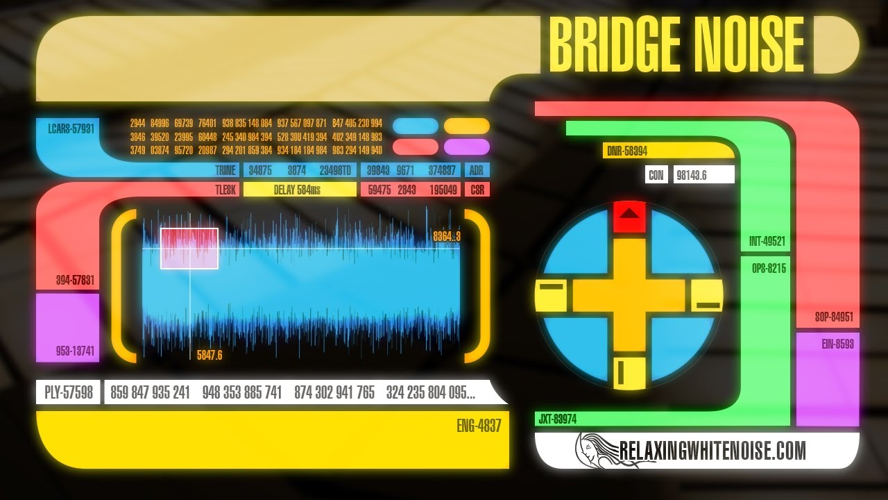 star trek the next generation bridge sounds for sleep or studying