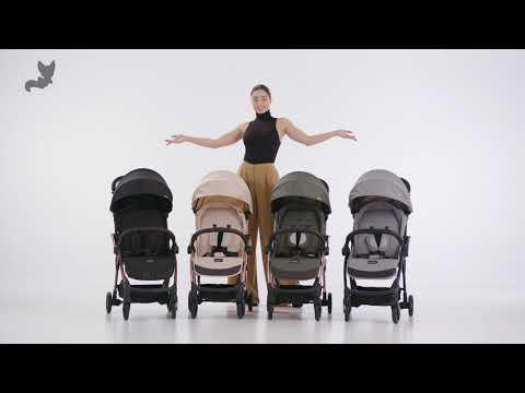 Прогулочная коляска Leclerc Influencer Sand Chocolate. Видео №1