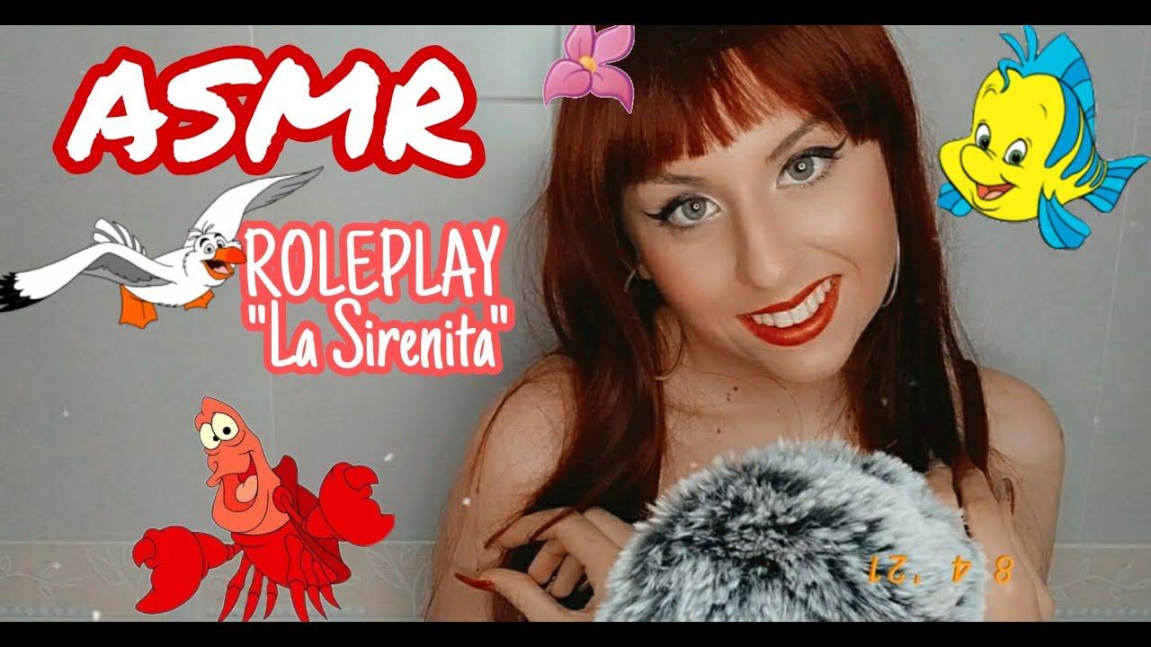 ASMR 🦀 Roleplay La Sirenita 🐠 Muchos TRIGGERS 🧞