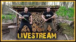 Naturensöhne Livestream #6 - Kochen Live im Camp