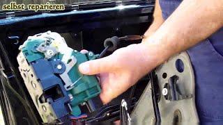 Golf 4 IV Jetta Mk4 Passat  Bora  Türschloss vorne, lock, Türverkleidung,