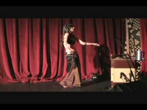 """Monique Trinity Rose Opening for The Indigo's """"Le Serpent Rouge"""" 2010"""