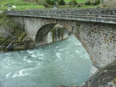 PUENTES HISTÓRICOS EN EL VALLE DE ARAGON (JACA) (SPAIN´S HISTORIC BRIDGES)