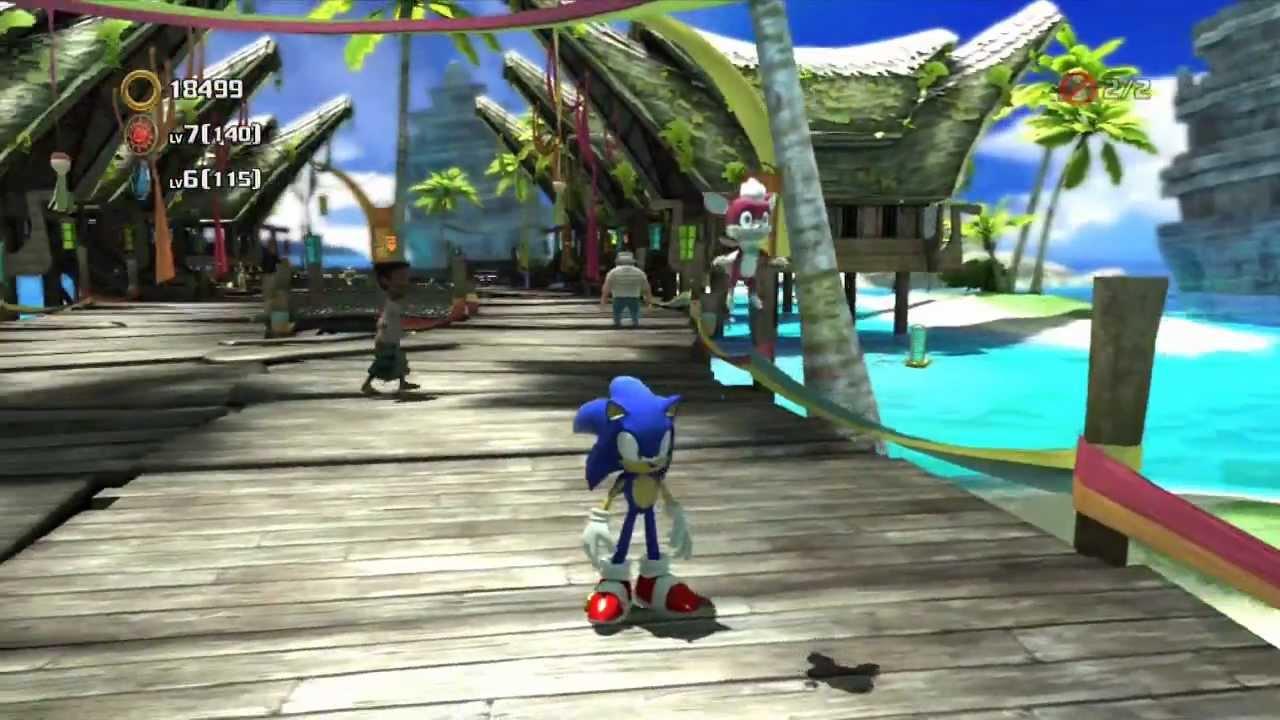 Sonic Unleashed Hub World Tour Adabat Youtube