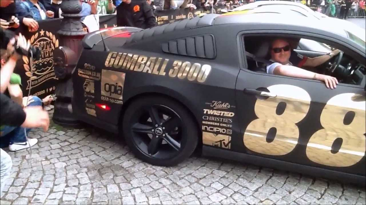 Gumball 3000 2013 Crashes Revs Accelerations Warsaw