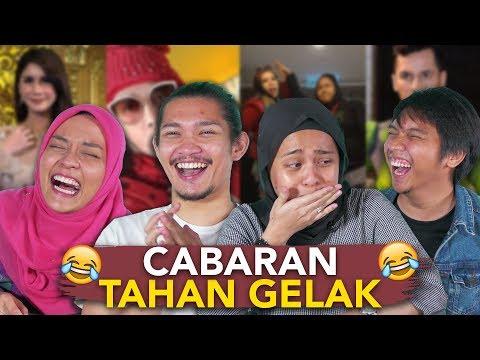 Cabaran Jangan Gelak: React To Video Diva AA, Cik B, Sajat & Dato' Aliff Syukri   SEISMIK Challenge