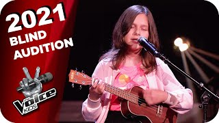 Gabrielle Aplin - Please Don't Say You Love Me (Isabella) | The Voice Kids 2021 | Blind Auditions