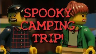 LEGO Spooky Camping Trip!