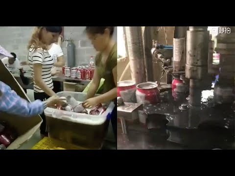 Chinese Factory Making FAKE Budweiser Beer CAUGHT ON CAMERA | What's Trending Now!